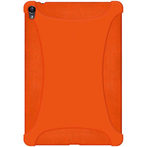 AMZER Shockproof Rugged Silicone Skin Jelly Case for Google Nexus 9 - Orange