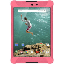 Load image into Gallery viewer, AMZER Shockproof Rugged Silicone Skin Jelly Case for Google Nexus 9 - Baby Pink