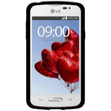 Load image into Gallery viewer, AMZER Pudding TPU Case - Black for LG L50 D213N