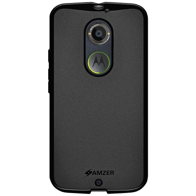 AMZER Pudding TPU Case for Motorola Moto X 2nd Gen - Black
