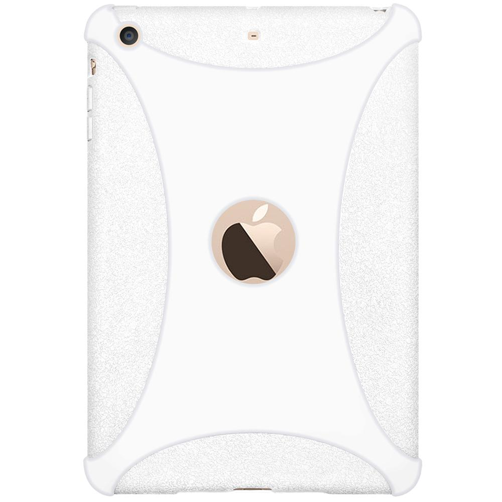 AMZER Silicone Skin Jelly Case for Apple iPad mini 3 - Solid White