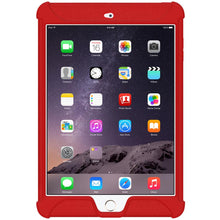 Load image into Gallery viewer, AMZER Shockproof Rugged Silicone Skin Jelly Case for Apple iPad mini 3 - Red