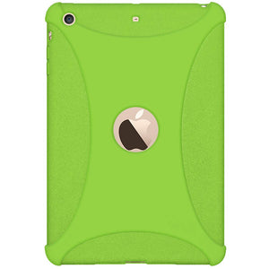 AMZER Shockproof Rugged Silicone Skin Jelly Case for Apple iPad mini 3 - Green
