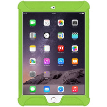 Load image into Gallery viewer, AMZER Shockproof Rugged Silicone Skin Jelly Case for Apple iPad mini 3 - Green