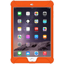Load image into Gallery viewer, AMZER Shockproof Rugged Silicone Skin Jelly Case for Apple iPad mini 3 - Orange