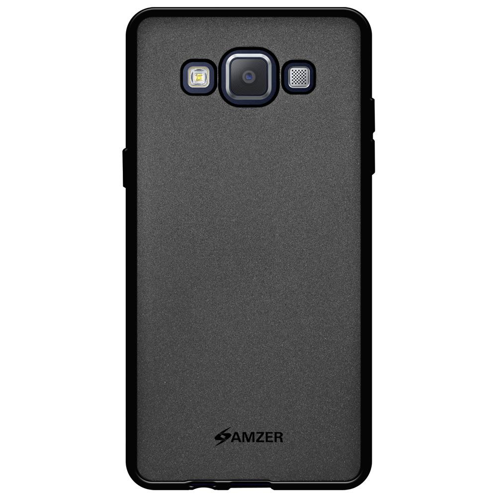 AMZER Pudding TPU Case - Black for Samsung GALAXY A5 SM-A500F