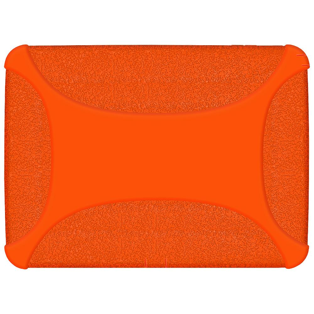 AMZER Rugged Jelly Case with Closed Back Camera - Orange for Samsung Galaxy Tab 3 10.1 K-12 Education Tablet