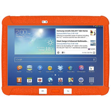 Load image into Gallery viewer, AMZER Rugged Jelly Case with Closed Back Camera - Orange for Samsung Galaxy Tab 3 10.1 K-12 Education Tablet