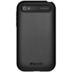 AMZER Pudding TPU Soft Case for BlackBerry Classic - Black
