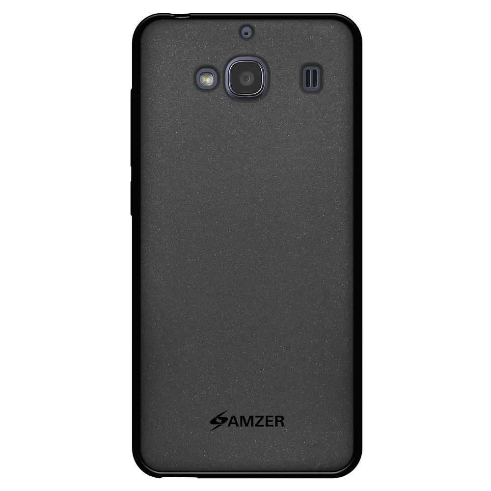 AMZER Pudding TPU Case - Black for Xiaomi Redmi 2