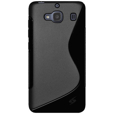 AMZER TPU Hybrid Case - Black for Xiaomi Redmi 2