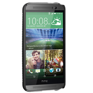 Amzer Shellster™ - Black for HTC One M8s, HTC One M8 EYE, HTC One M8
