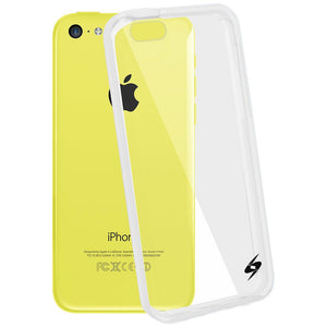 AMZER Shockproof Bumper Cover Hybrid Hard Case for iPhone 5C