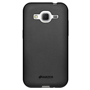 AMZER Pudding TPU Soft Skin Case for Samsung GALAXY Core Prime - Black