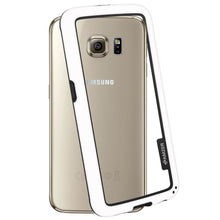 Load image into Gallery viewer, AMZER Border Case - White for Samsung Galaxy S6 SM-G920F