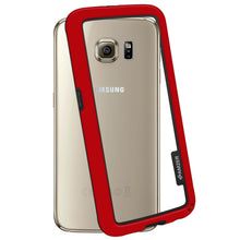Load image into Gallery viewer, AMZER Border Case - Red for Samsung Galaxy S6 SM-G920F