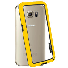 Load image into Gallery viewer, AMZER Border Case for Samsung Galaxy S6 - Yellow