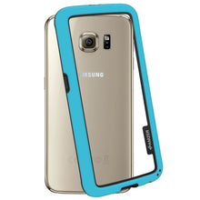 Load image into Gallery viewer, AMZER Border Case - Blue for Samsung Galaxy S6 SM-G920F