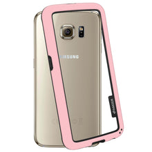 Load image into Gallery viewer, AMZER Border Case - Pink for Samsung Galaxy S6 SM-G920F