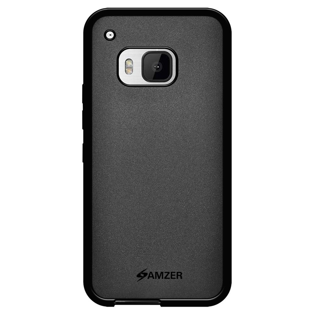 AMZER Pudding TPU Case - Black for HTC One M9