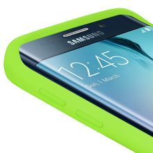 Load image into Gallery viewer, AMZER Silicone Skin Jelly Case for Samsung Galaxy S6 edge SM-G925F - Green