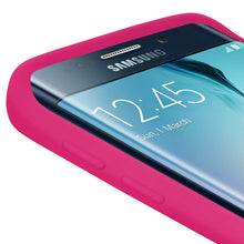 Load image into Gallery viewer, AMZER Silicone Skin Jelly Case for Samsung Galaxy S6 edge - Hot Pink