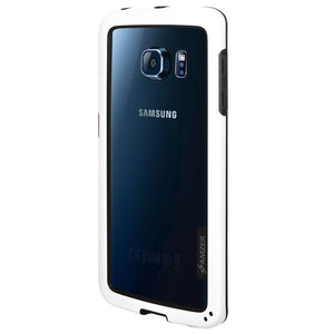 AMZER Border Case - White for Samsung Galaxy S6 edge SM-G925F