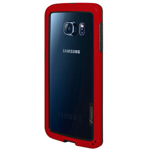 AMZER Border Case - Red for Samsung Galaxy S6 edge SM-G925F
