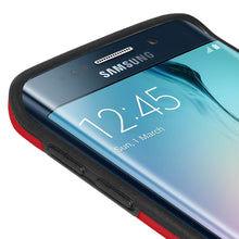 Load image into Gallery viewer, AMZER Border Case - Red for Samsung Galaxy S6 edge SM-G925F