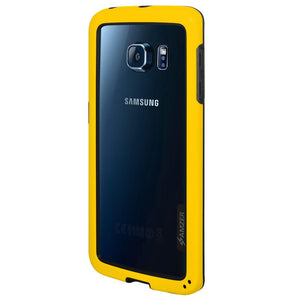 AMZER Border Case - Yellow for Samsung Galaxy S6 edge SM-G925F