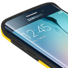 Load image into Gallery viewer, AMZER Border Case - Yellow for Samsung Galaxy S6 edge SM-G925F