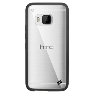 AMZER SlimGrip Hybrid Case - Black for HTC One M9