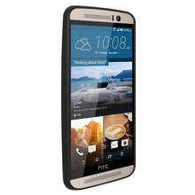 Load image into Gallery viewer, AMZER SlimGrip Hybrid Case - Black for HTC One M9