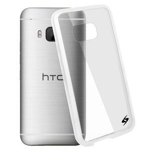 AMZER SlimGrip Hybrid Case - White for HTC One M9