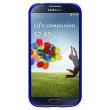 Load image into Gallery viewer, AMZER Soft Gel TPU Gloss Skin Case - Translucent Dark Blue for Samsung GALAXY S4 GT-I9500