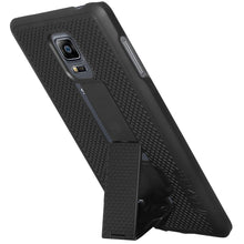 Load image into Gallery viewer, AMZER Shellster Hard Case Clip Holster for Samsung GALAXY Note Edge - Black