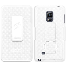 Load image into Gallery viewer, AMZER Shellster Hard Case Clip Holster for Samsung GALAXY Note Edge - White