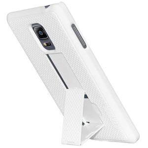 AMZER Snap On Case with Kickstand - White for Samsung GALAXY Note Edge SM-N915F
