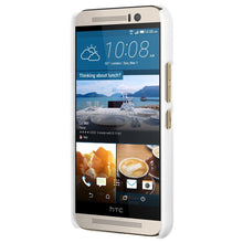 Load image into Gallery viewer, AMZER Snap On Case with Kickstand - White for HTC One M9