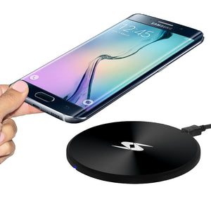 Amzer Wireless Charging Pad for Samsung GALAXY S III GT-I9300, iPhone 4S, iPhone 4