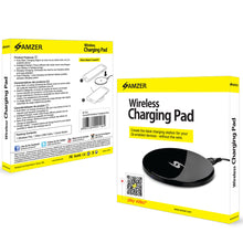 Load image into Gallery viewer, Amzer Wireless Charging Pad for Samsung GALAXY S III GT-I9300, iPhone 4S, iPhone 4