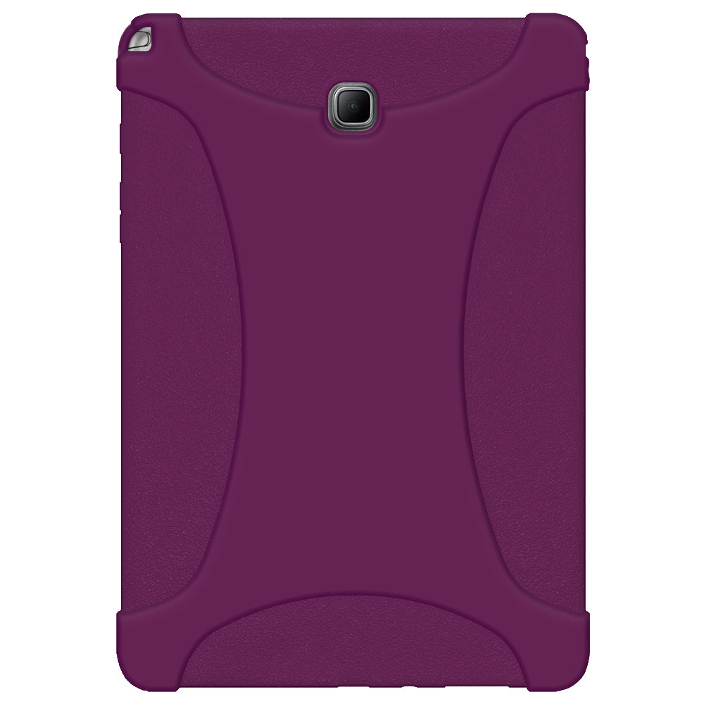 Amzer Silicone Skin Jelly Case - Purple for Samsung Galaxy Tab A 8.0 SM-T350, Samsung Galaxy Tab A 8.0 SM-T355, Samsung Galaxy Tab A 8.0