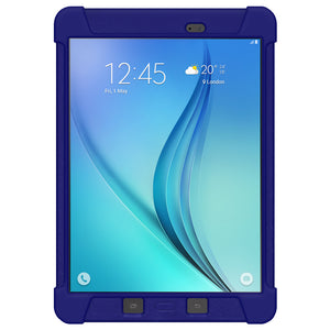 Amzer Silicone Skin Jelly Case - Blue for Samsung Galaxy Tab A 8.0 SM-T350, Samsung Galaxy Tab A 8.0 SM-T355, Samsung Galaxy Tab A 8.0