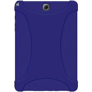 AMZER Silicone Skin Jelly Case for Samsung Galaxy Tab A 9.7 - Blue