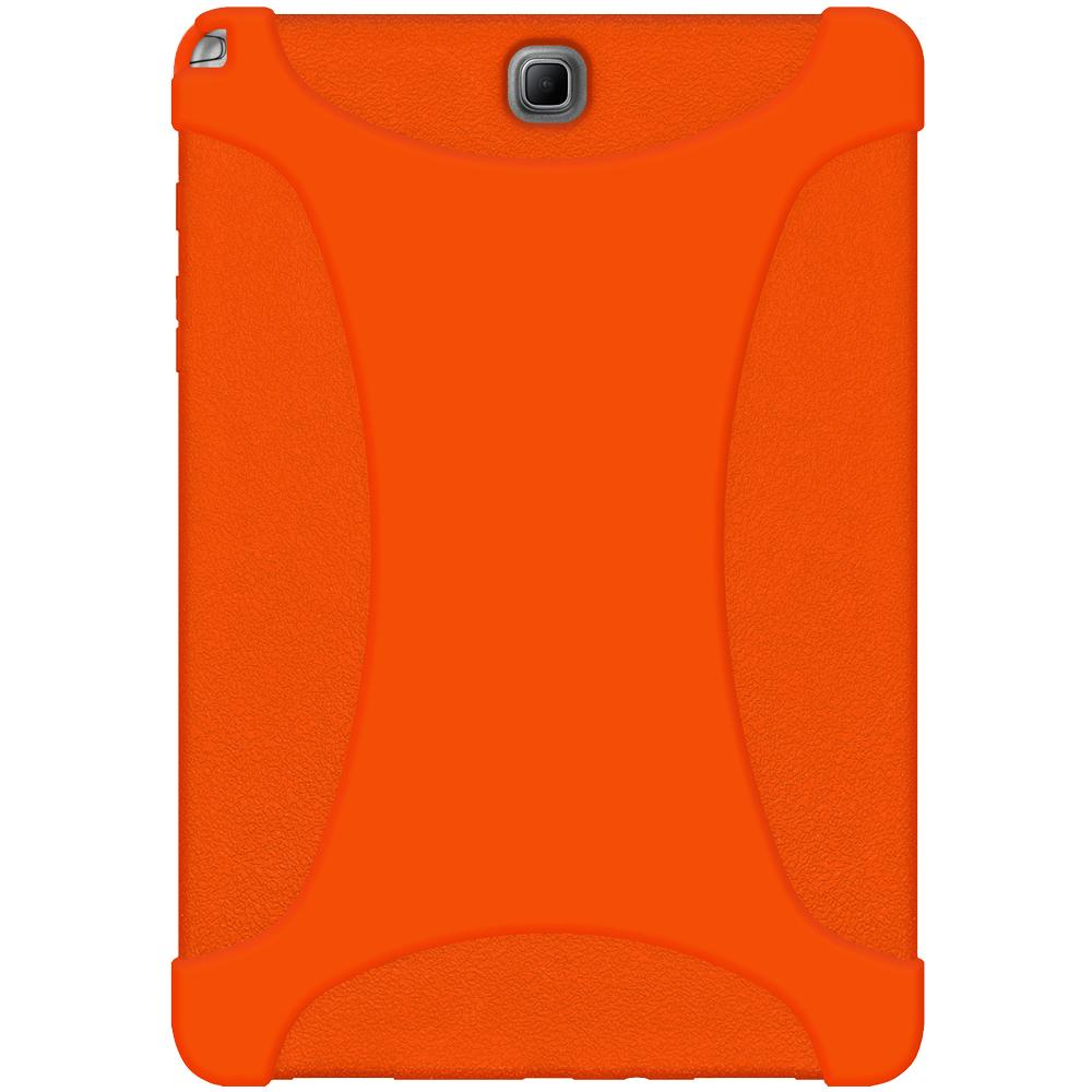 AMZER Silicone Skin Jelly Case for Samsung Galaxy Tab A 9.7 - Orange