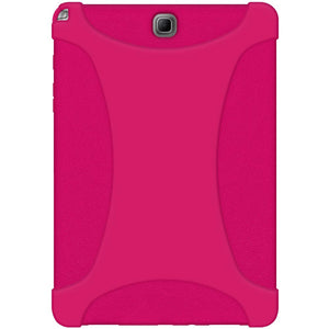 AMZER Silicone Skin Jelly Case for Samsung Galaxy Tab A 9.7 - Hot Pink
