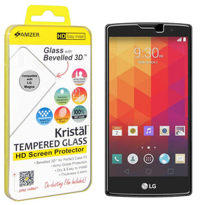AMZER Kristal Tempered Glass HD Screen Protector for LG Magna H502F