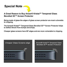 Load image into Gallery viewer, AMZER® Kristal™ Tempered Glass HD Screen Protector for LG Tribute LS660
