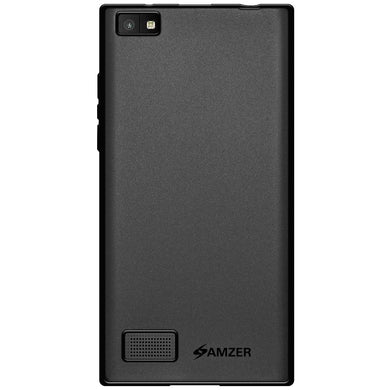 AMZER Ultra Thin Pudding Soft TPU Skin Case for BlackBerry Leap - Black