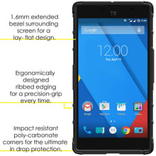 Load image into Gallery viewer, AMZER Warrior Hybrid Case for Micromax YU Yuphoria YU5010 - Black/Black